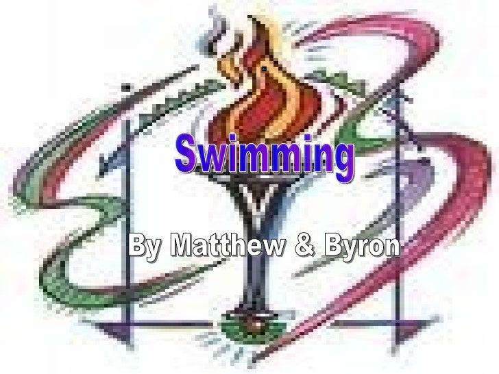Swimming By Matthew & Byron