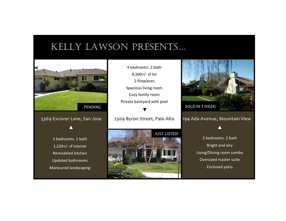 KELLY LAWSON PRESENTS…                                                           4bedrooms.2b...