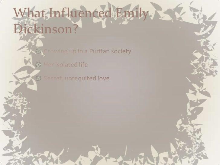 emily dickinson isolation