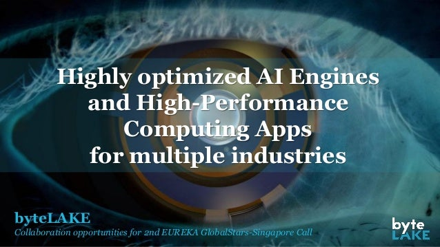 byteLAKE Collaboration opportunities for 2nd EUREKA GlobalStars-Singapore Call Highly optimized AI Engines and High-Perfor...