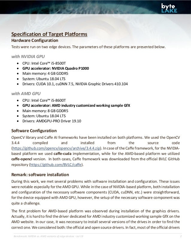 Benchmark of AI edge devices: powered by NVIDIA Quadro P1000