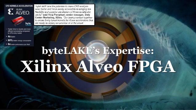 byteLAKE's Expertise: Xilinx Alveo FPGA
