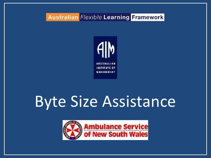 Byte Size Assistance<br />