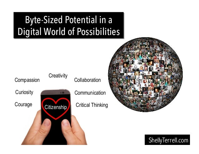 ShellyTerrell.com Byte-Sized Potential in a Digital World of Possibilities Compassion Communication Creativity Courage Cri...