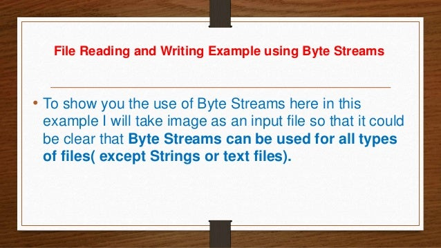 java write bytes to file I'm making a method to save a byte[] to a file it's for a java helper i'm writing, so it needs to be able to handle any kind of system i saw on this.