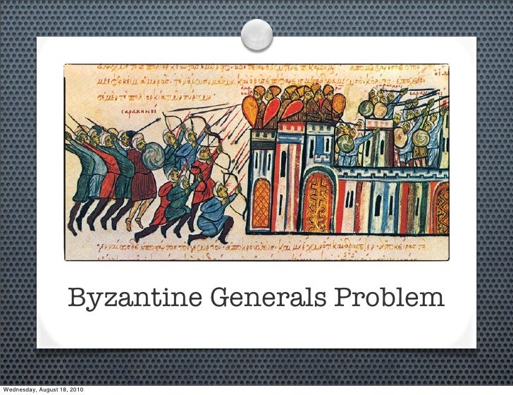 Byzantine Generals Problem   Wednesday, August 18, 2010