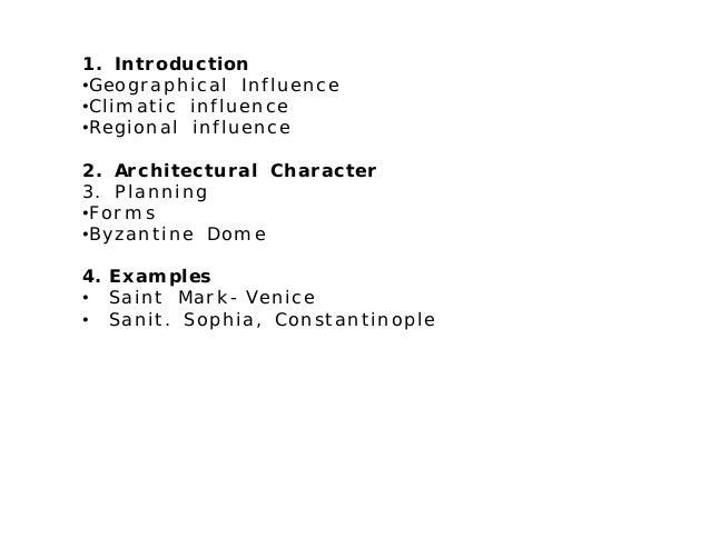 Byzantine architecture Slide 2