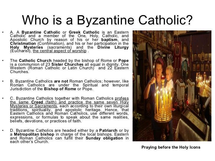 the eastern orthodox and roman catholic