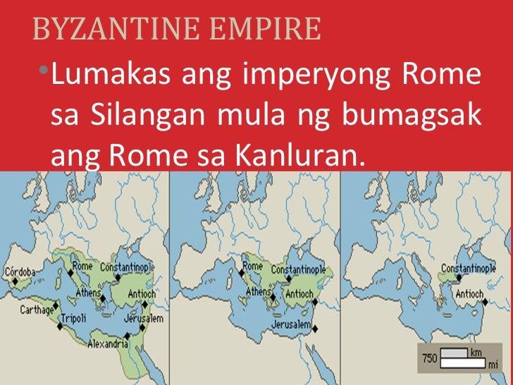Byzantine empire Slide 3