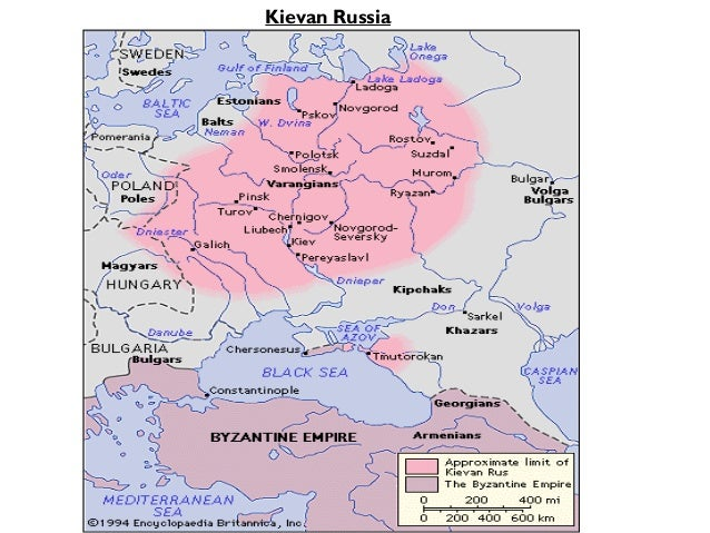 Byzantine Russia Mon