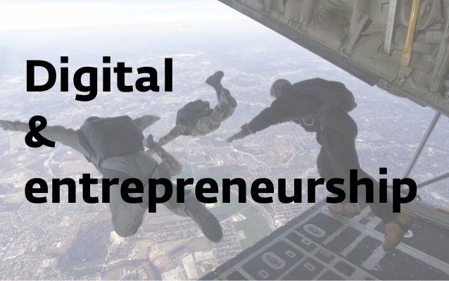 Digital & entrepreneurship