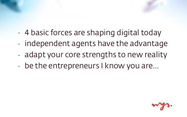 Digital entrepreneurship for independent financial agents. Slide 3