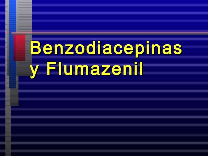 Benzodiacepinasy Flumazenil