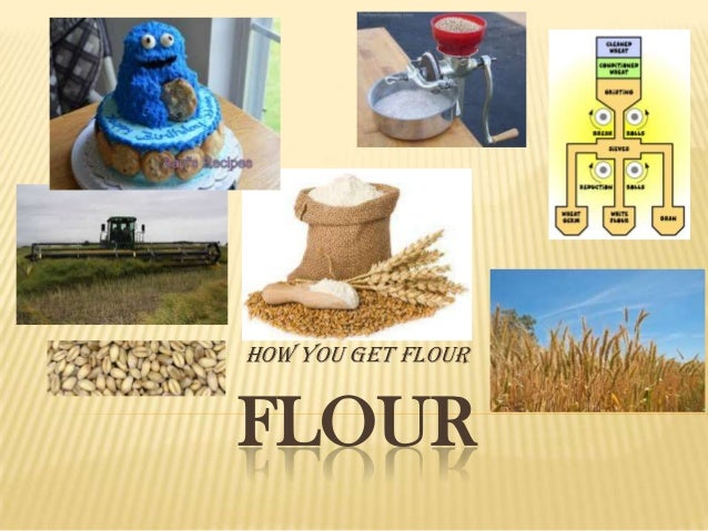 How you get flour  FLOUR