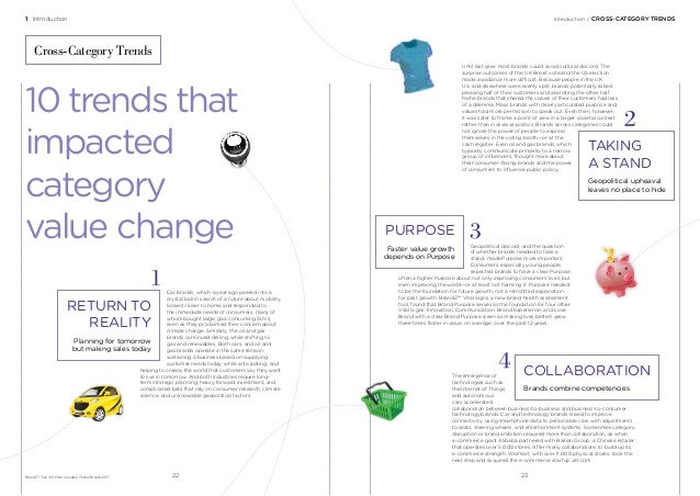 1 Introduction Introduction/CROSS-CATEGORY TRENDS BrandZ™ Top 100 Most Valuable Global Brands 2017 Cross-Category Trends...