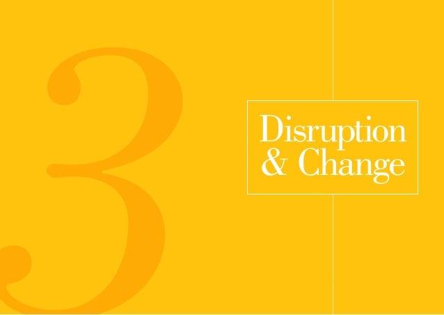 Disruption & Change