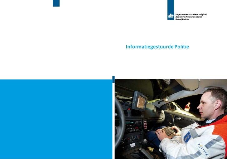Informatiegestuurde Politie