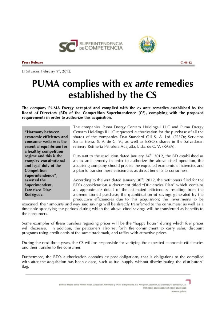 Press Release                                                                                   C. 06-12El Salvador, Febru...