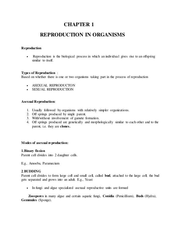 Gemmule formation asexual reproduction worksheet