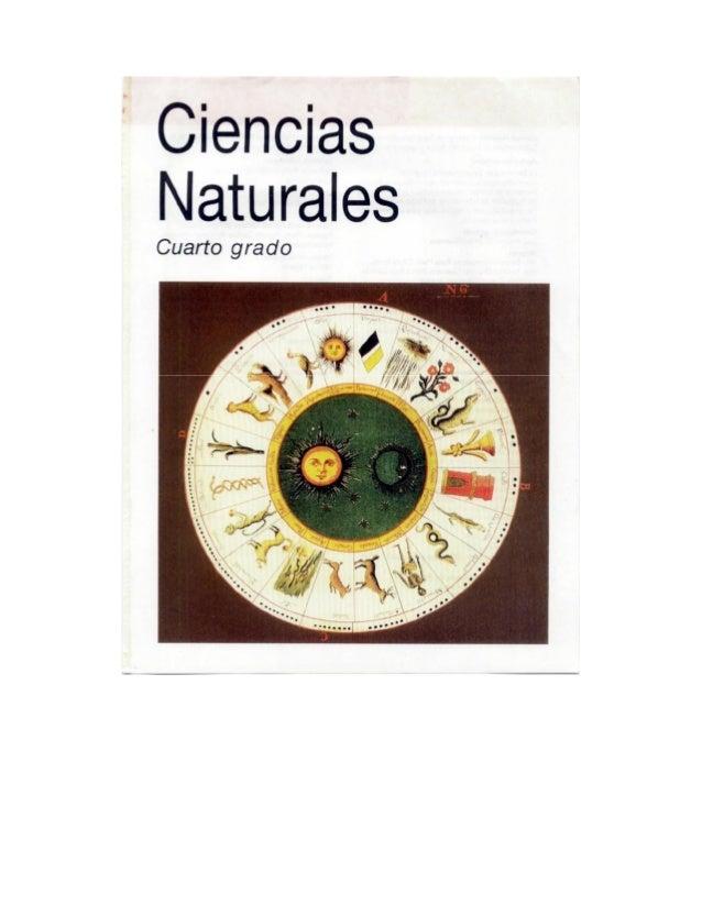 Ciencias naturales cuarto grado 1993