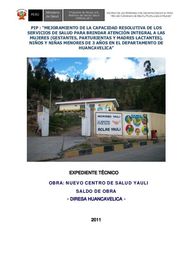 """DECENIO DE LAS PERSONAS CON DISCAPACIDAD EN EL PERÚ """"Año del Centenario de Machu Picchu para el Mundo"""" Programa de Apoyo a..."""