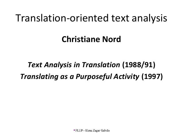 C.nord before translating