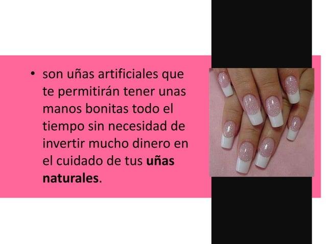 • son uñas artificiales que te permitirán tener unas manos bonitas todo el tiempo sin necesidad de invertir mucho dinero e...