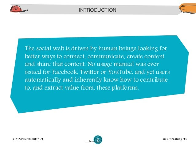 It is not the technology behind Facebook or the  code behind Twitter that lend them multi-billion  dollar valuations.  CAT...