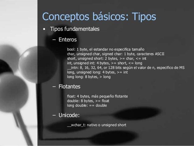 El lenguaje de pogramación C++ Slide 2
