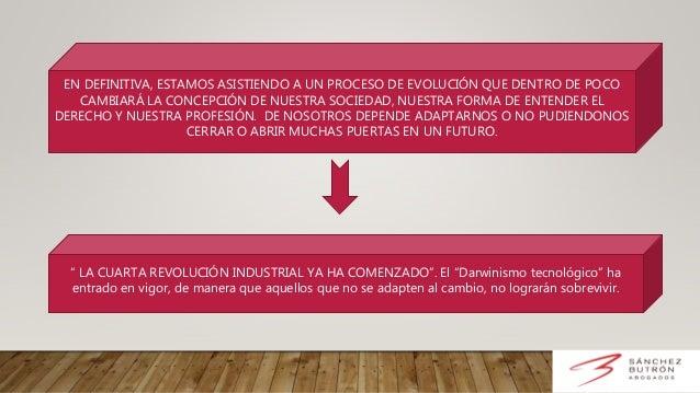 Cayetano Sánchez - Las nuevas tecnologías en el ámbito profesional de la abogacía