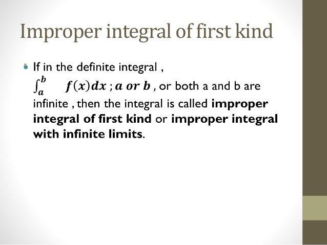 improper integral convergence test