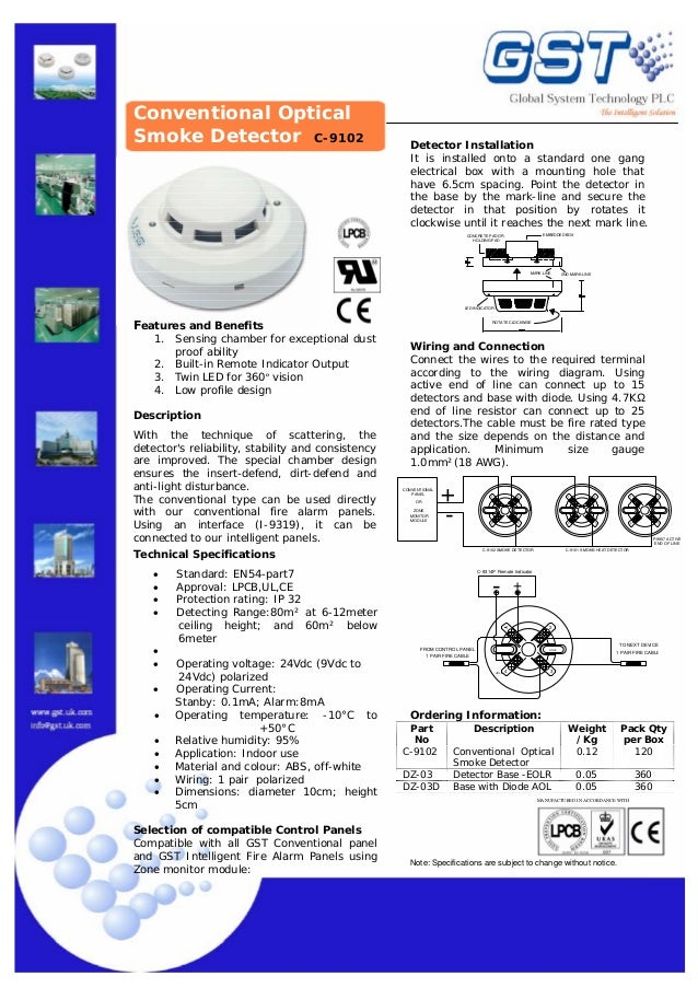 c 9102 1 638?cb=1385077790 c 9102 gst smoke detector wiring diagram at bayanpartner.co