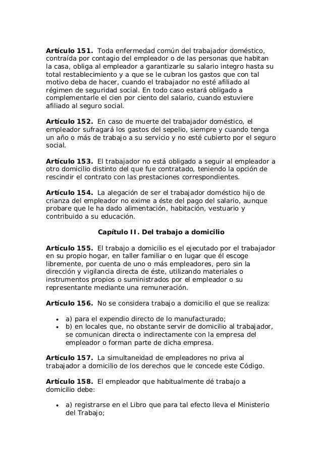 C Digo Del Trabajo Nicaragua La Gaceta 30 De Octubre De