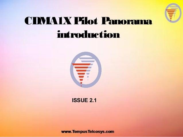 CDMA1XPilot PanoramaintroductionISSUE 2.1
