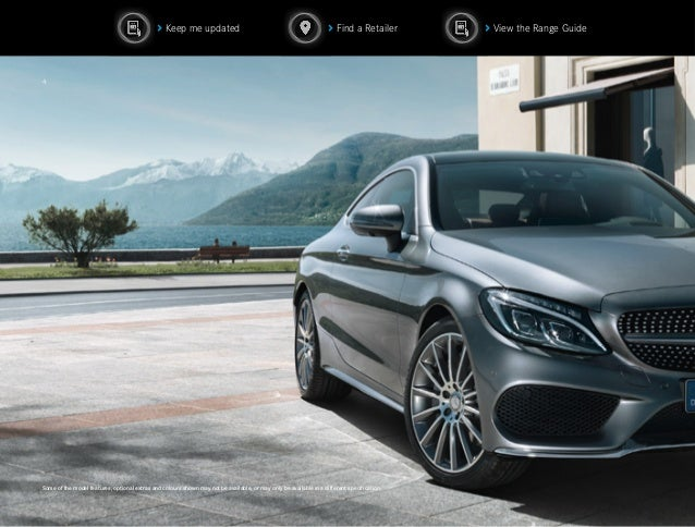 2016 mercedes c class coupe brochure pdf for Mercedes benz c class colours