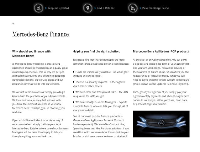 2016 mercedes c class coupe brochure pdf for Mercedes benz finance login