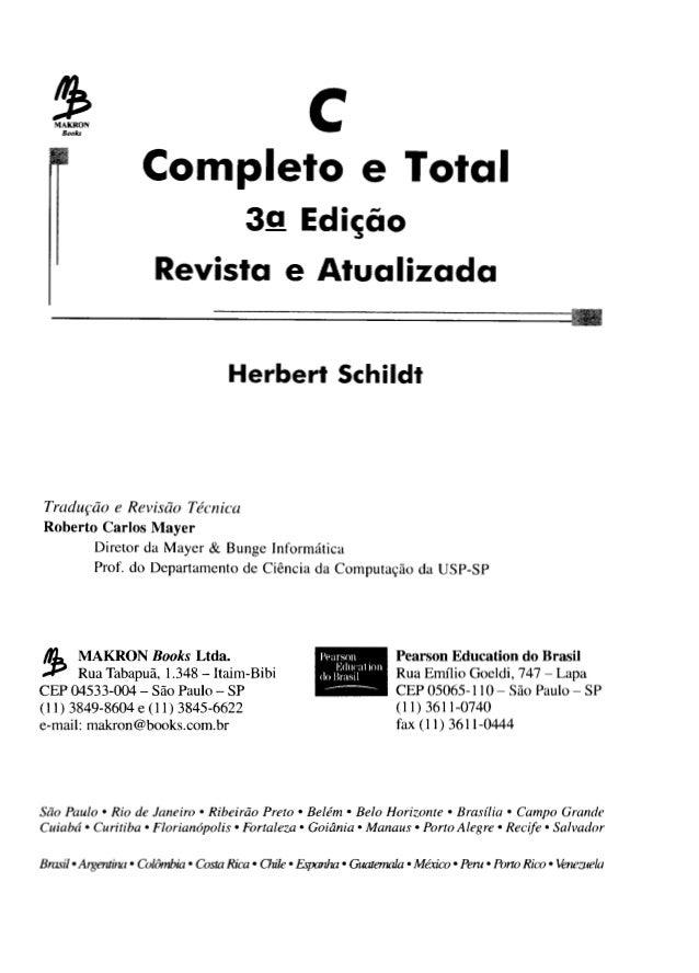 C completo-e-total-3 -ed11-herbert-schildt-makron-books