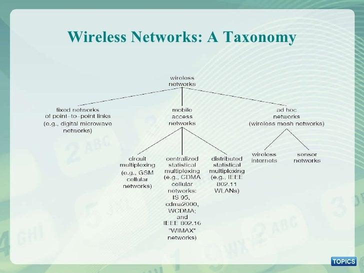 Wireless Networks: A Taxonomy