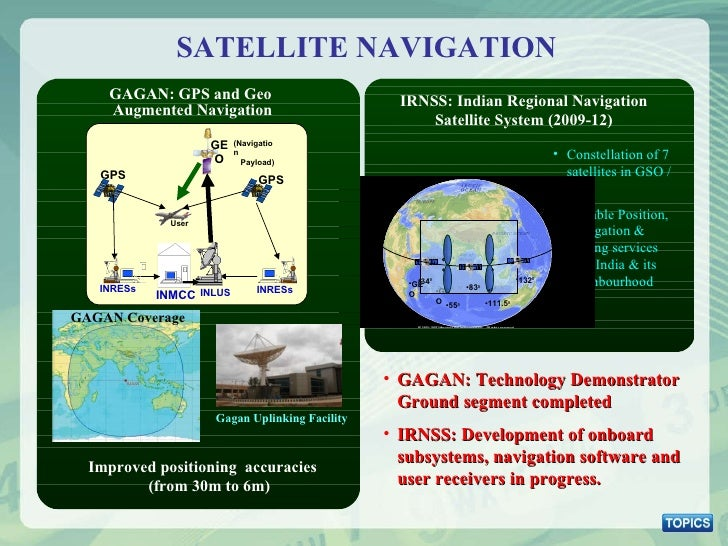 <ul><li>Constellation of 7 satellites in GSO / GEO </li></ul><ul><li>Reliable Position, Navigation & Timing services over ...