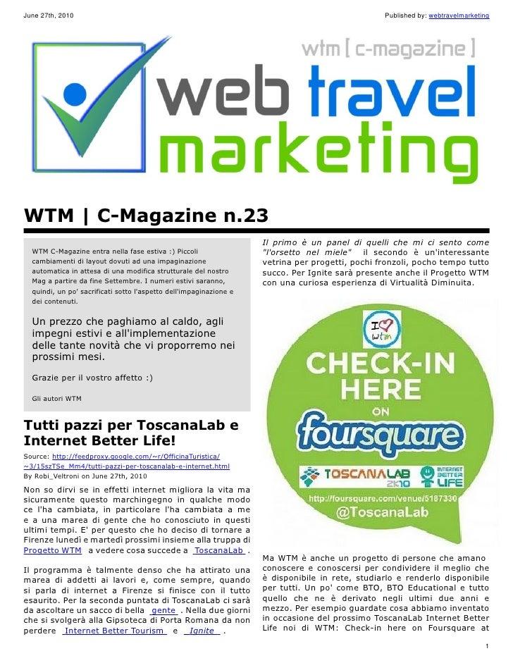 WTM | C-Magazine n.23