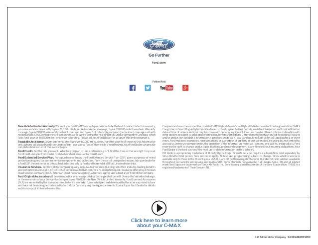 2016 Ford C Max Hybrid Energi