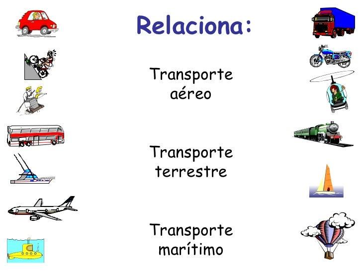 C. Medio  LOS MEDIOS DE TRANSPORTE - Primer Ciclo E. Primaria Slide 3