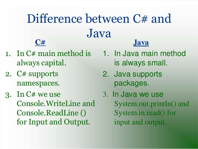 difference between console.write and console.writeline in c# with example