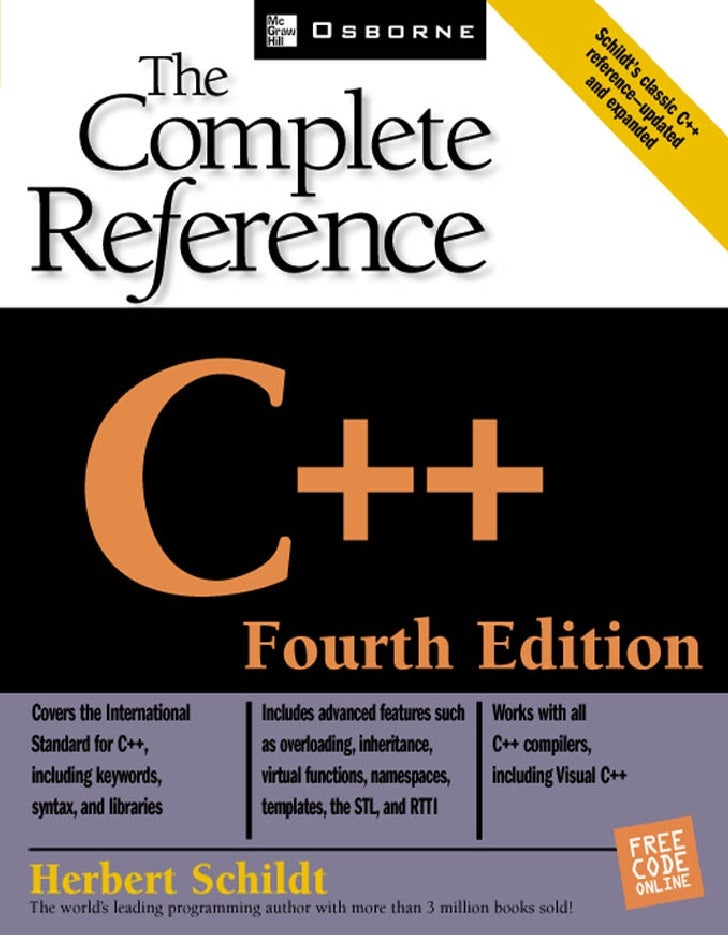 C Plus Plus The Complete Reference 4th Ed   Www Amaderforum Com