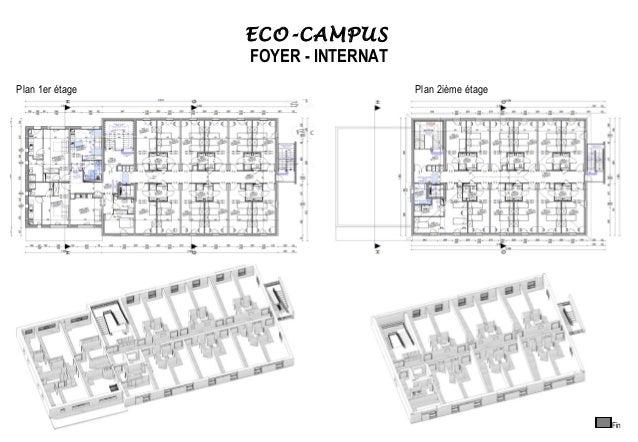Plan De Foyer Universitaire : Eco campus