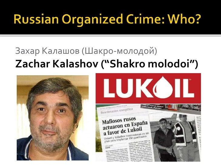 Russian Mafia's Worldwide Grip