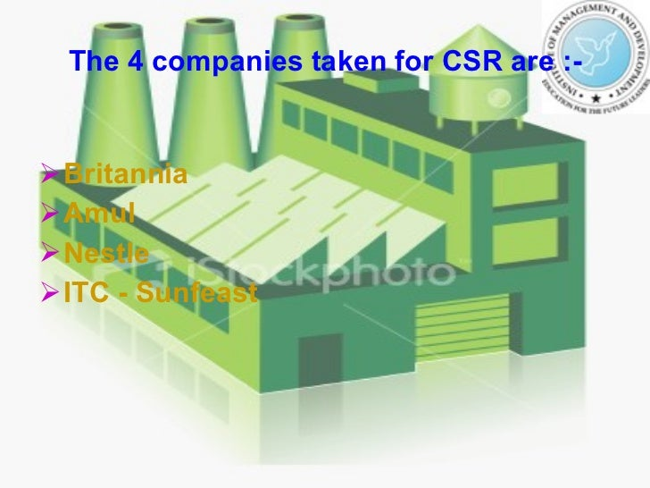 csr of britannia Choosing to make a commitment to csr reporting is great, but what comes next  sustainit can  edf cadbury reckitt benckiser britannia building society.