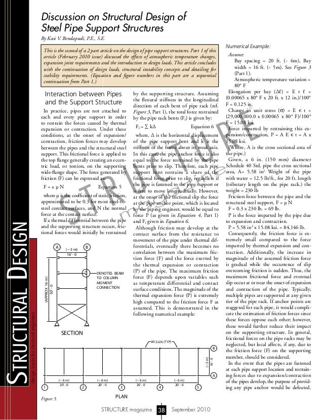 designissuesforstructuralengineers StructuralDesign STRUCTURE magazine September 201038 Discussion on Structural Design of...
