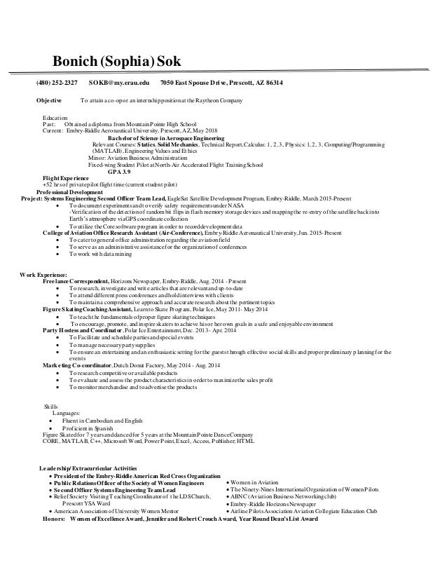 raytheon resume