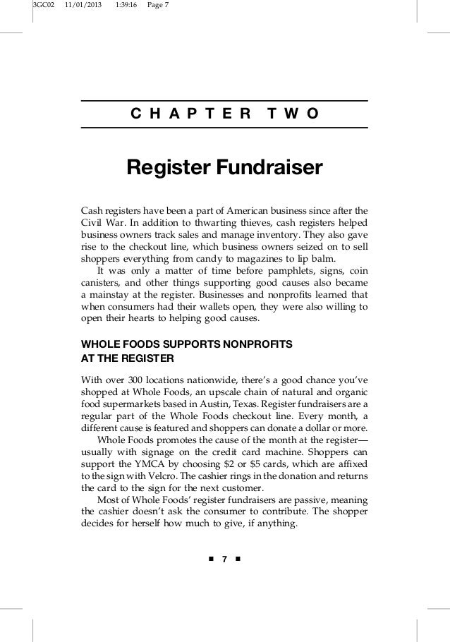 3GC02  11/01/2013  1:39:16  Page 7  C H A P T E R  T W O  Register Fundraiser Cash registers have been a part of American ...